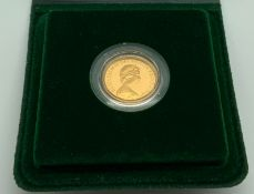 1980 ROYAL MINT GOLD PROOF FULL SOVEREIGN COIN