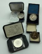 SELECTION OF FOUR MEDALS