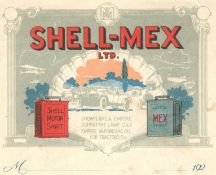 1920s SHELL-MEX ADVERTISING PAGE