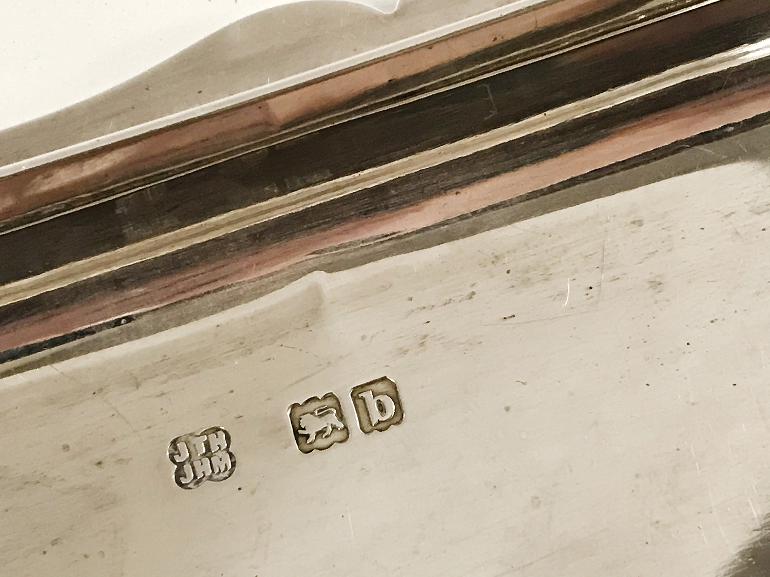EDWARDIAN HM SILVER CASKET IN GREAT CONDITION - Image 5 of 5