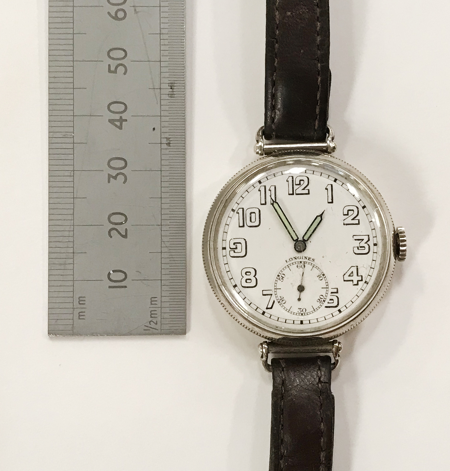 LONGINES WRISTWATCH IN SILVER - Image 2 of 3