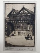 THE FALCON CHESTER ETCHING