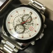 GENTS BOXED CHRONOGRAPH