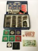COINS INCL. 1951 FESTIVAL OF BRITAIN