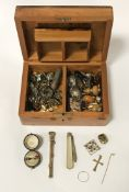 COLLECTION OF JEWELLERY INCL. GOLD & SILVER