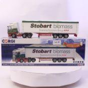 Corgi Scania R Moving Floor Trailer - Eddie Stobart Biomass