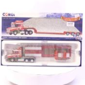 Corgi Scania T Nooteboom Low Loader - H.C. Wilson Transport LTD
