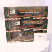 Corgi 3 Assorted Eddie Stobart Models