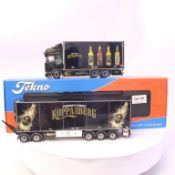 Tekno Kopparbergs Scania R-Serie Riged Truck Swedish Combination