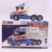 Corgi Scania T Tractor Unit - Ridgeway Rentals LTD