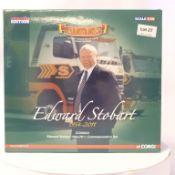 Corgi 2 Tractor Unit & Curtainside Trailer Set - Eddie Stobart