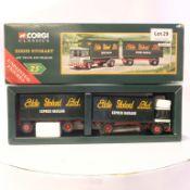 Corgi AEC Truck and Trailer - Eddie Stobart