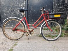 A Pashley ladies Post Office bicycle, model Female RM92 Millennium, serial number 8554, with three