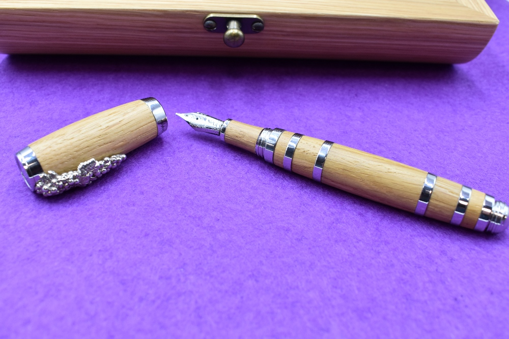 Lot 10 - A Montegrappa Tirebouchon limited edition fountain pen. This pen is 76/100, known as the Wine Makers
