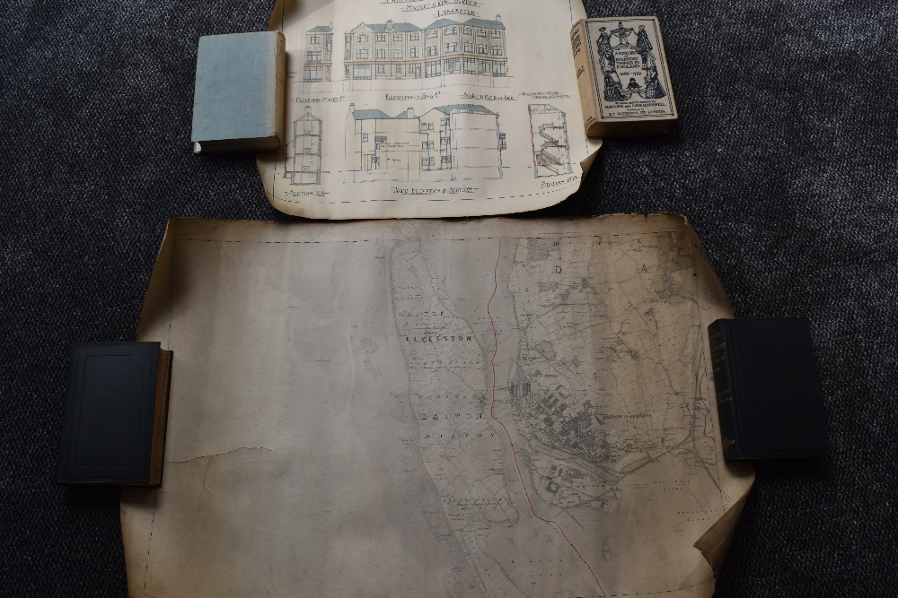 Lot 435 - Local History. Maps and Plans, a small selection. Includes; Map of the Proposed West Cumberland,
