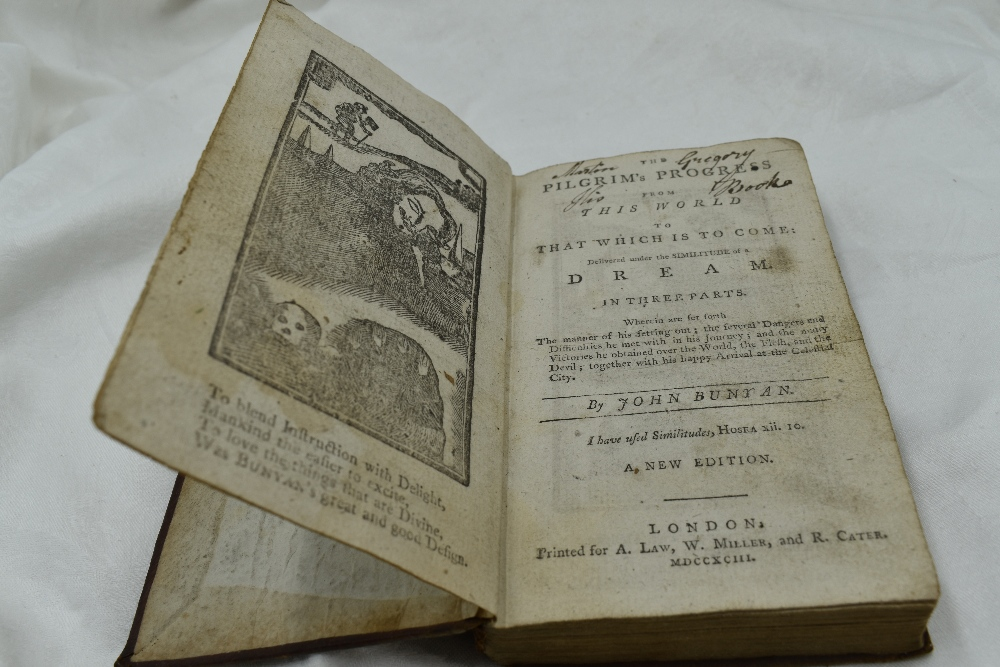 Lot 409 - Antiquarian. Bunyan, John. The Pilgrim's Progress from This World to that Which is to Come: &c.