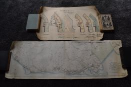 Local History. Maps and Plans, a small selection. Includes; Map of the Proposed West Cumberland,