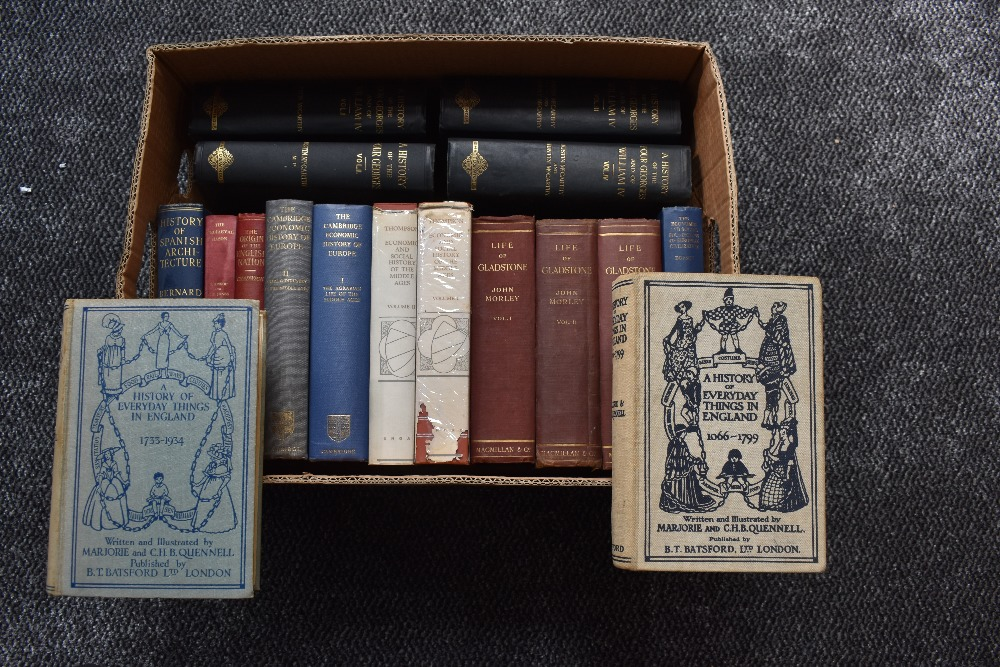 Lot 433 - History and related biographies. Includes; Morley, J. - The Life of William Ewart Gladstone. 1903,