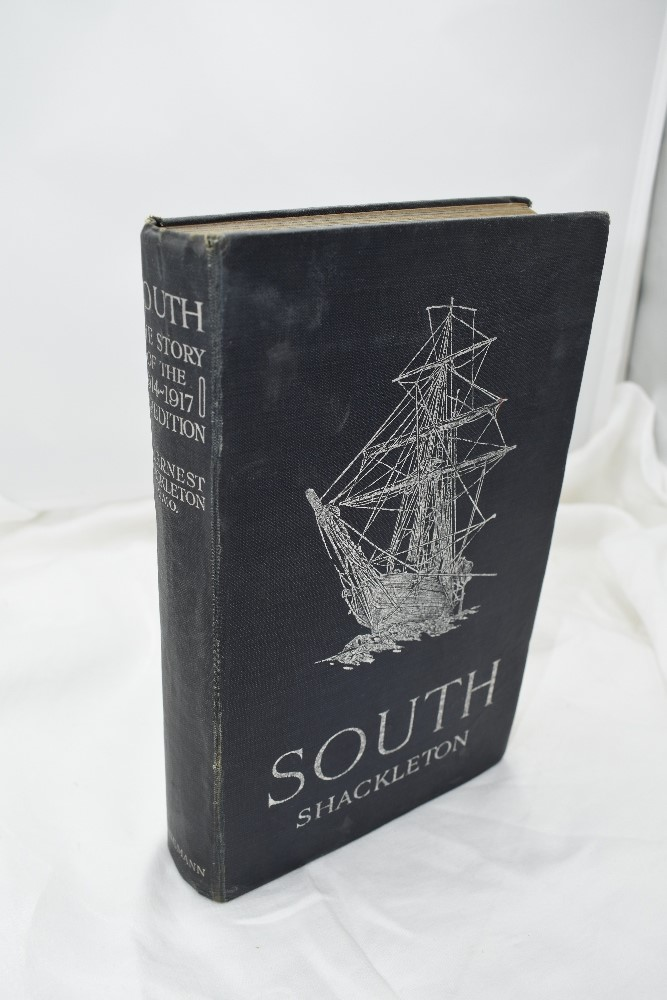 Lot 413 - Polar Exploration. Shackleton, Sir Ernest. South: The Story of Shackleton's Last Expedition 1914-