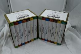 Wainwright. Two boxed sets of The Pictorial Guides to the Lakeland Fells, 50th Anniversary