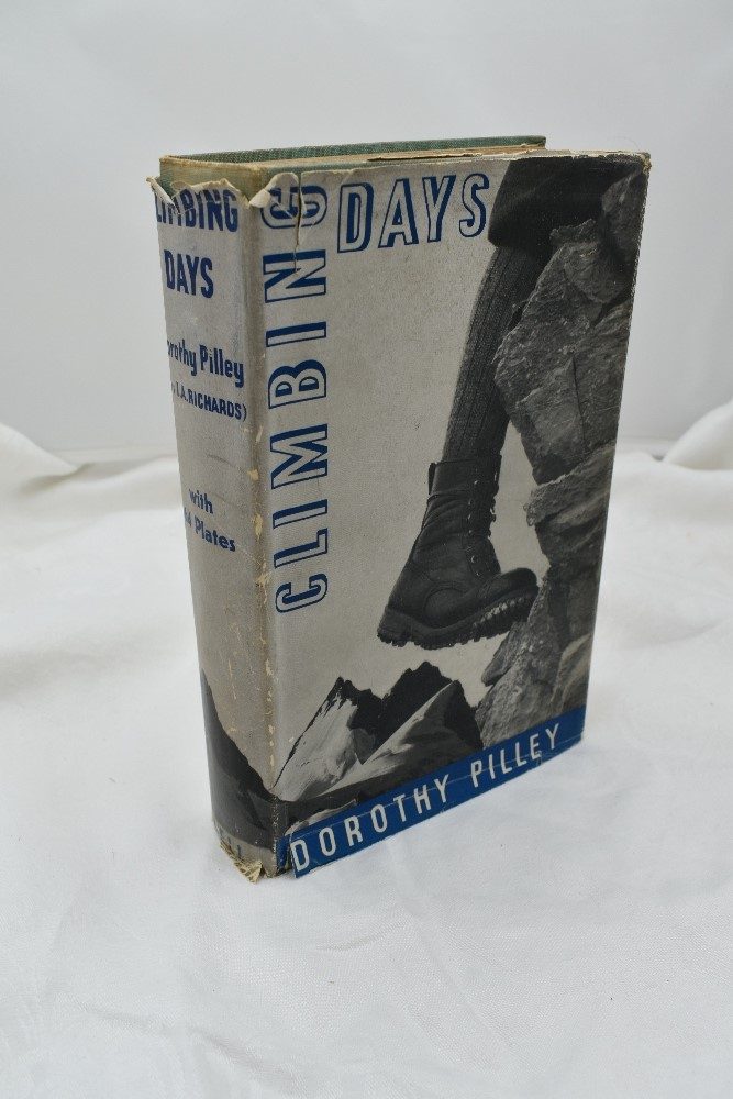 Lot 414 - Mountaineering. Pilley, Dorothy. Climbing Days. London: G. Bell & Sons, Ltd. 1935, 1st. Original