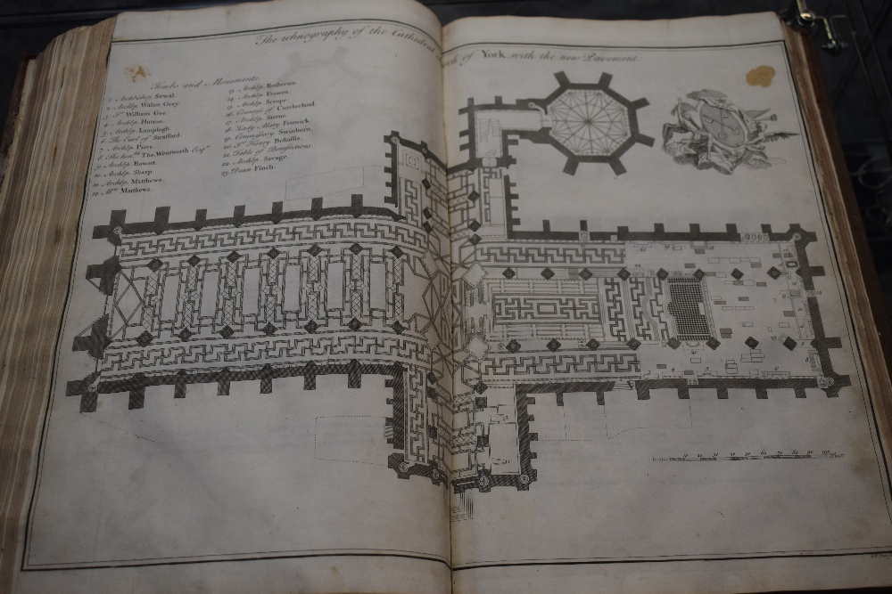 Lot 425 - Yorkshire. Drake, Francis - Eboracum: or the History and Antiquities of the City of York. London: