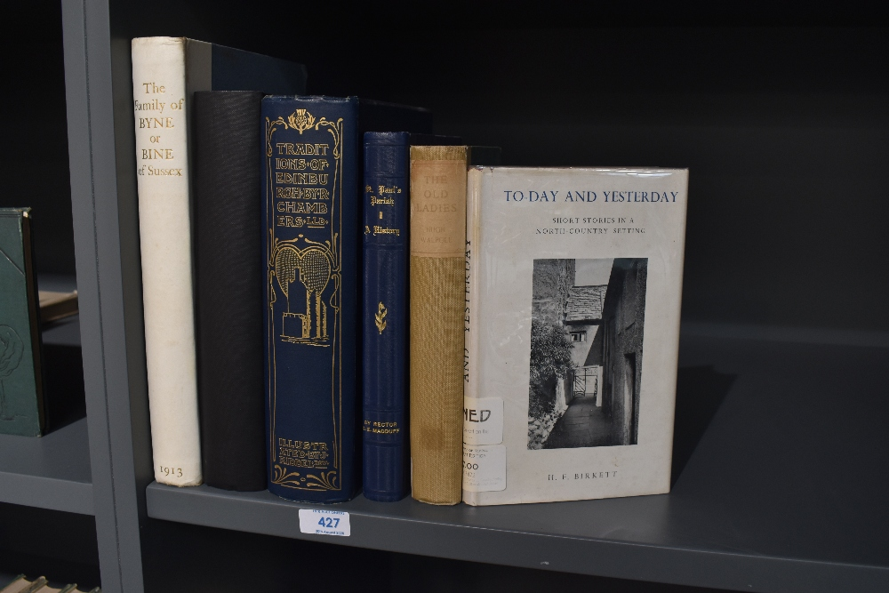 Lot 427 - Miscellaneous. A selection, includes; Renshaw, Walter Charles - Searches into the History of the