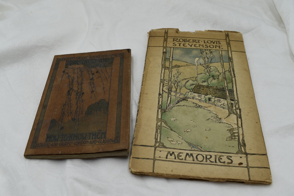 Lot 411 - Jessie M. King interest. Two items. Our Trees and How to Know Them. London: Gowans & Gray, Ltd.
