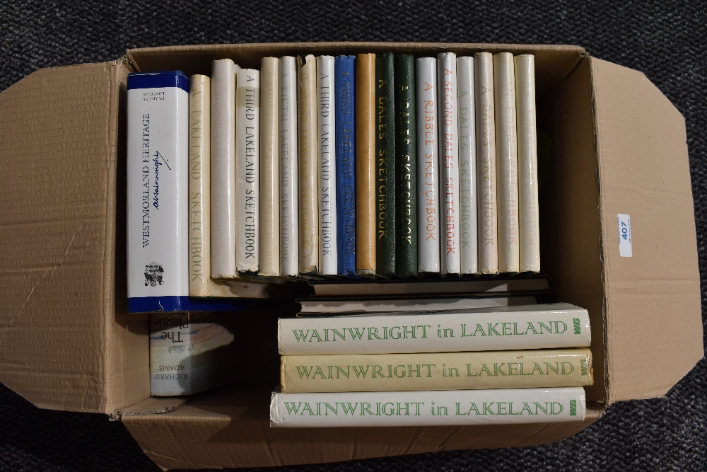 Lot 407 - Wainwright. A selection of Sketchbooks, most in dust wrappers, various impressions. Includes the