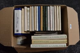 Wainwright. A selection of Sketchbooks, most in dust wrappers, various impressions. Includes the