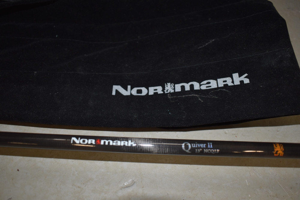 Lot 354 - A Normark 13ft Quiver II NCQ13 with sleeve