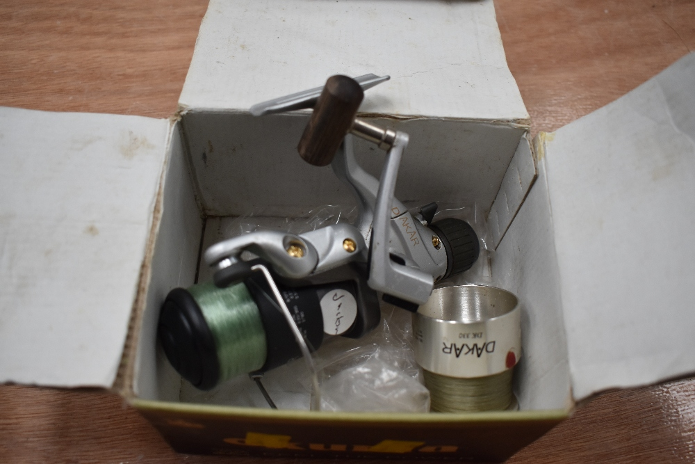 Lot 376 - A Dakar spinning reel