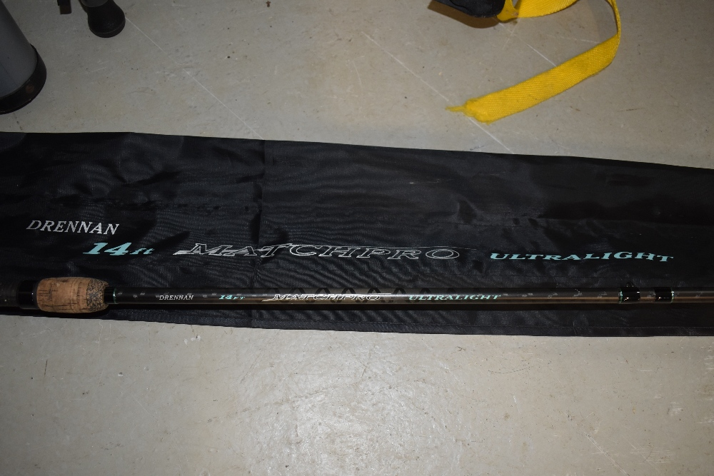 Lot 355 - A Drennan Matchpro Ultralight 14ft with sleeve