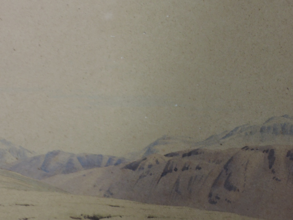 Lot 378 - A watercolour, William Heaton Cooper, Scafell and Gable, Seat Elan, Scout Clan, signed and