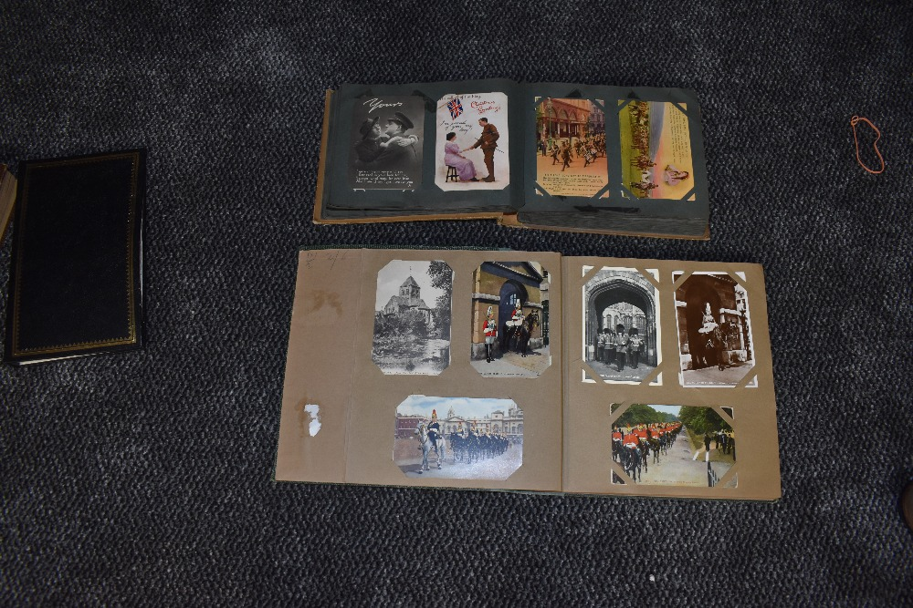 Lot 850 - A Album of WW1 Postcards, approx 290 cards