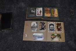 A Album of WW1 Postcards, approx 290 cards