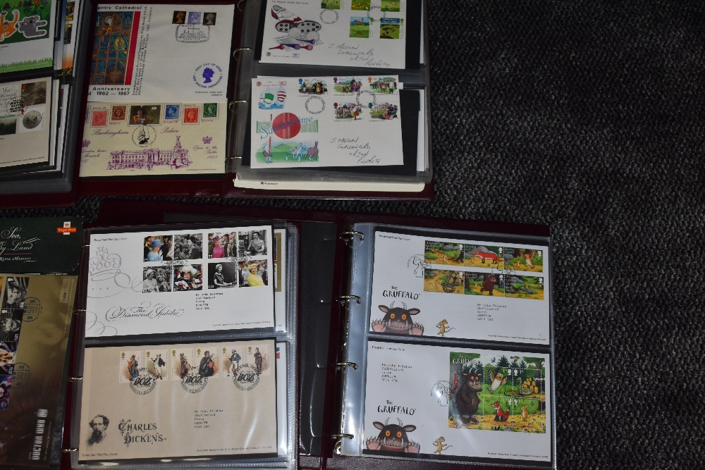 Lot 804 - A Collection of GB First Day Covers 1994 to 2019 in 7 Royal First Day Cover Albums, 2000 to 2019