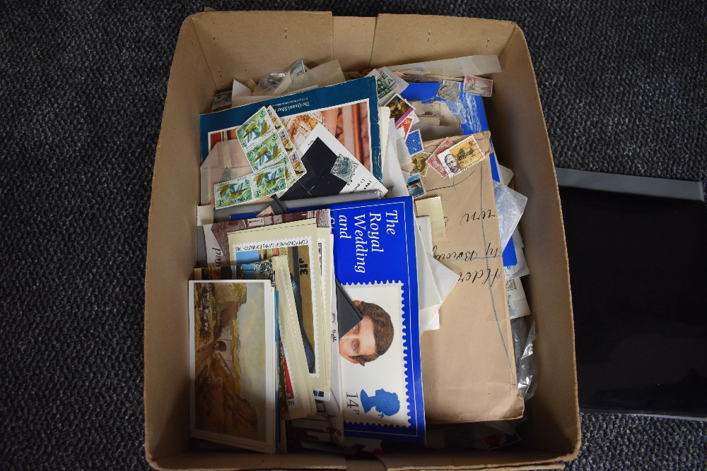 Lot 846 - A box of World Stamps & Covers, mainly used