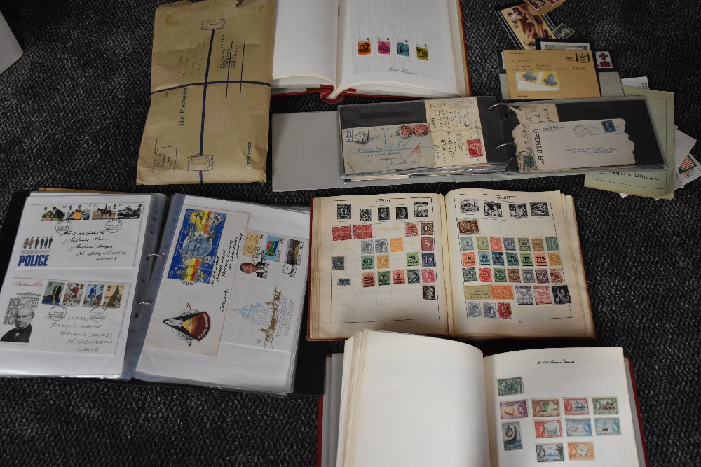 Lot 811 - Five albums and loose World Stamps & covers, mint & used including Commonwealth