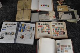 Five albums and loose World Stamps & covers, mint & used including Commonwealth