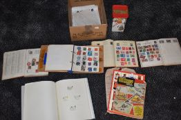 A collection of mint & used GB and World Stamps in albums and loose
