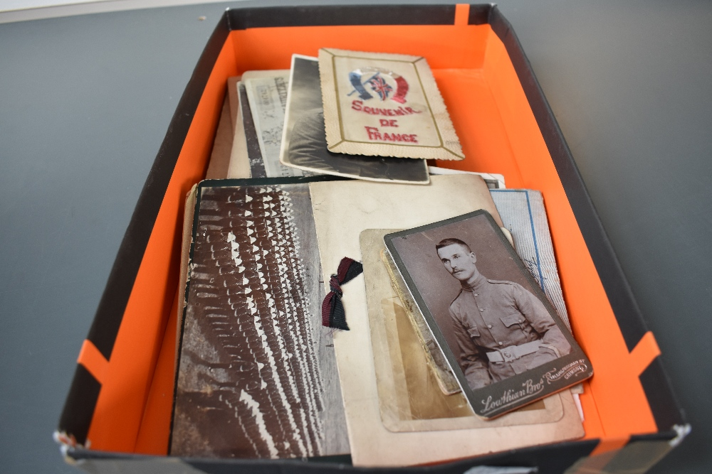 Lot 859 - A small collection of early Military Postcards and Photographs with Mauritius interest