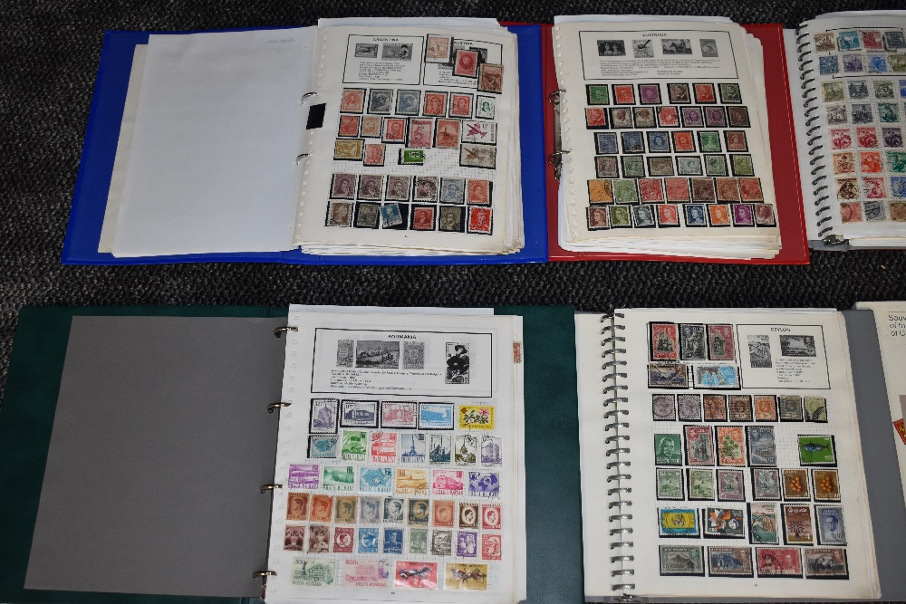 Lot 803 - A Collection of World Stamps including Commonwealth in 9 albums