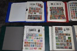A Collection of World Stamps including Commonwealth in 9 albums