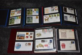 A Collection of mainly GB First Day Covers & Commemorative Covers in 6 albums