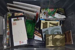 A Large Collection of GB Presentation Packs, Stamp Booklets & Prestige Booklets