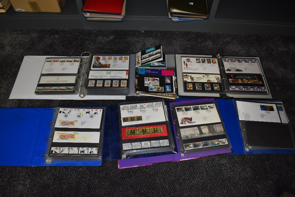 Lot 838 - A collection of GB First Day Covers & Presentation Packs in seven albums, 1960s to 2002