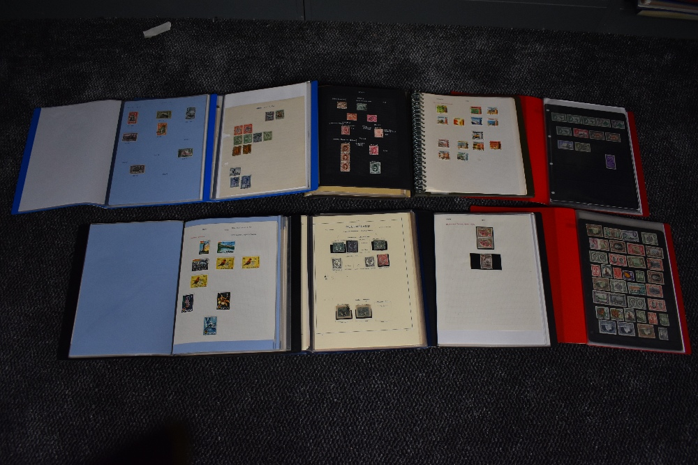 Lot 831 - A collection of mainly used Stamps of the Commonwealth, in eight albums