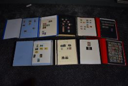 A collection of mainly used Stamps of the Commonwealth, in eight albums