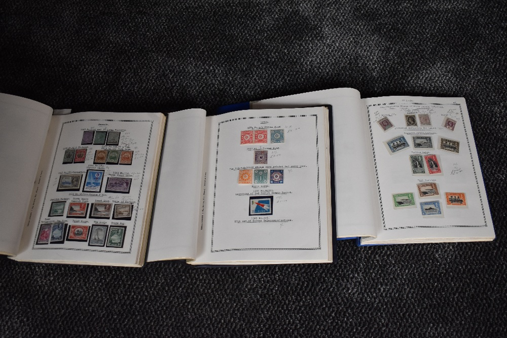Lot 819 - Three albums containing World & Commonwealth Stamps, mint & used, Victoria to 1960's, including